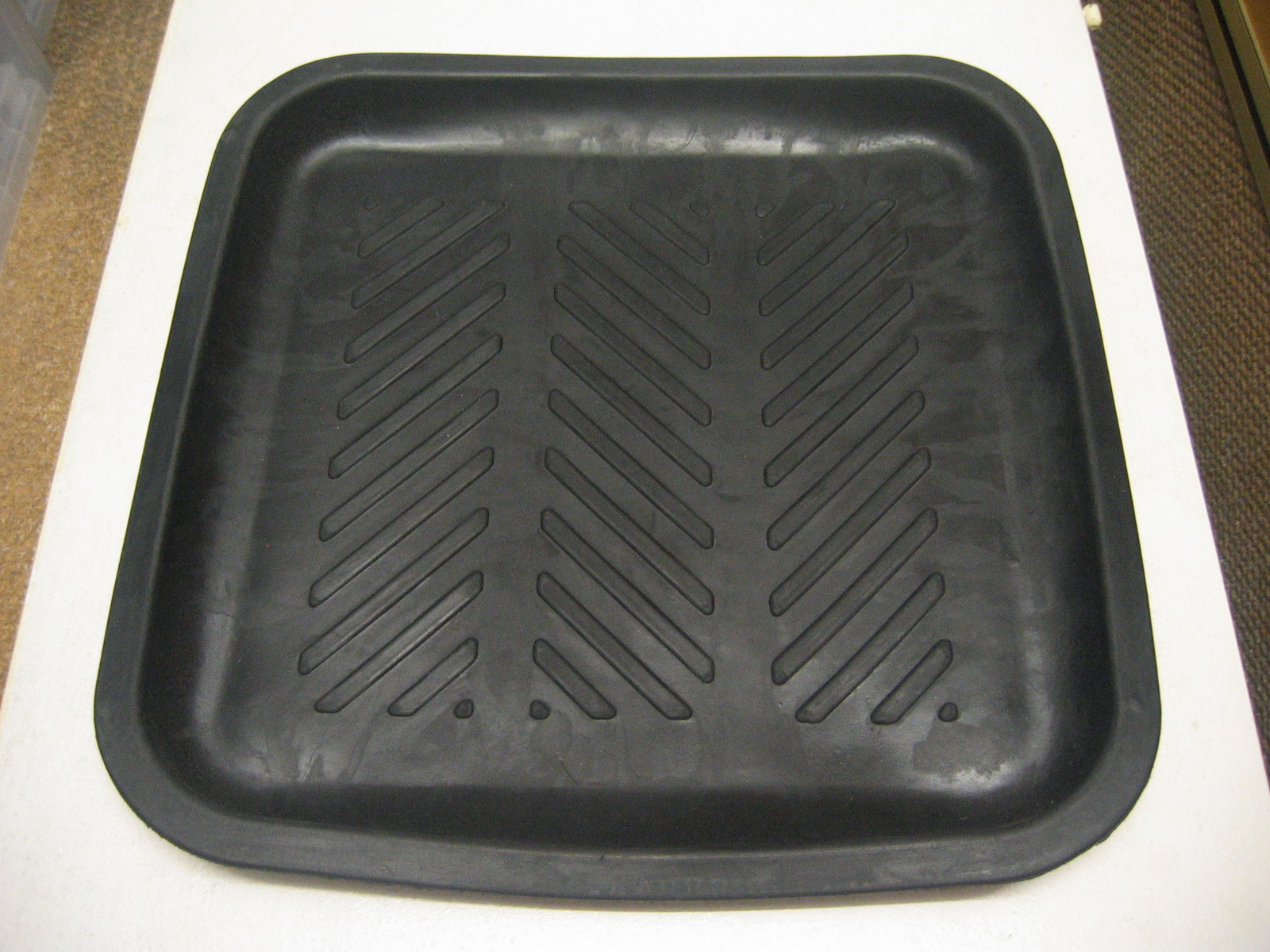 Motorbike Motorcycle Scooter Rubber Oil Fluid Drip Tray