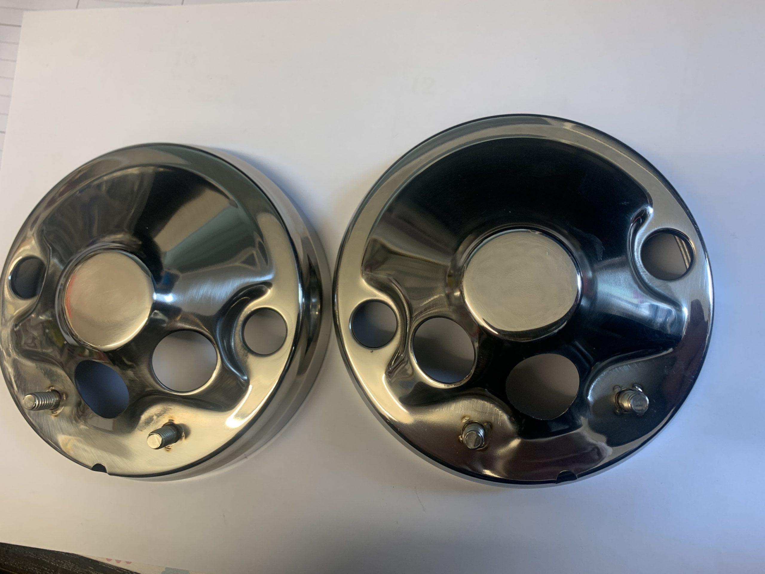 Détails sur HONDA CB 400 K CB400 K40 K40 K40 Horloge Bottoms SPEEDO TACHO  CHROME COVER CASE  afficher le titre d'origine