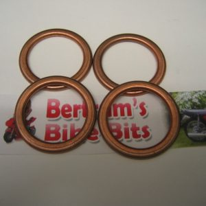 HONDA-FT-500-FT500-XL-650-XL650-CB-1000-CB1000-CBR1000-COPPER-EXHAUST-GASKETS-290652214421