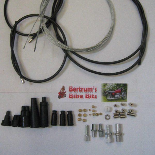 Universal-SplitDual-Throttle-Motorcycle-Cable-Kit-wJunction-301688032394