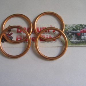HONDA-CB-CBR-CBF-600-CB600-CBR600-COPPER-EXHAUST-GASKETS-290652214815